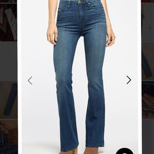Blank nyc flare high rise jean